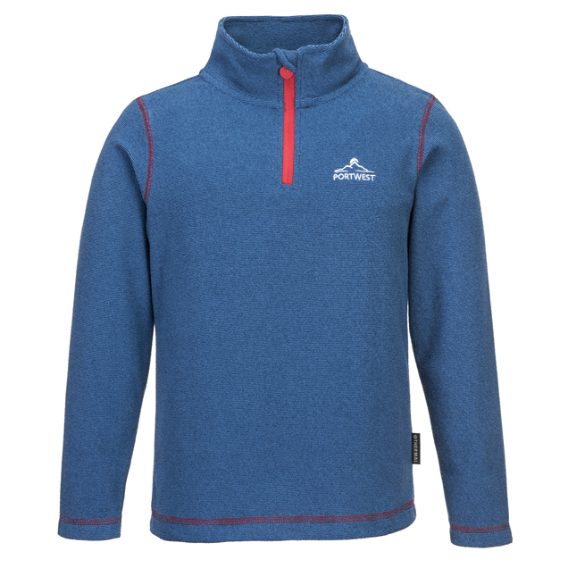 Portwest Doonbeg Boys' Fleece, Blue