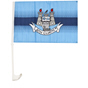 DJ Daly Dublin Car Flag Blue