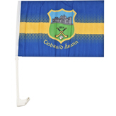 DJ Daly Tipp Car Flag Blue