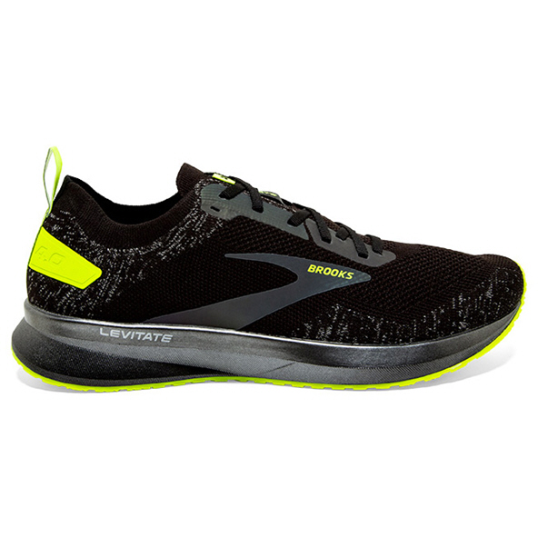 Brooks Levitate 4 Reflective Men's Running Shoe, Black