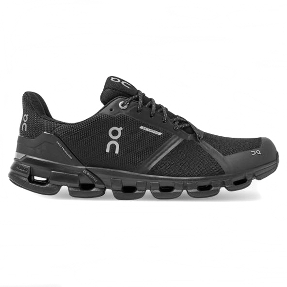 ON Cloudflyer Men's Waterproof Running Shoe, Black