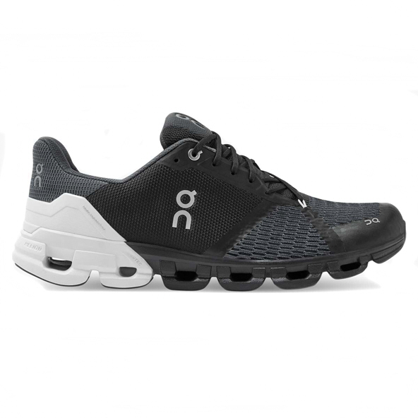 ON Cloudflyer Men's Running Shoe, Black/White
