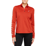 Asics Katakana Winter Wmn HalfZip Orange