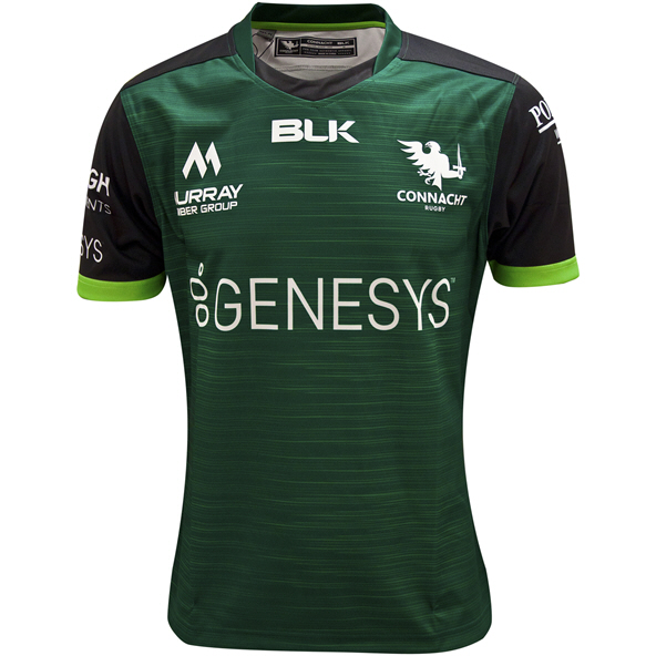 BLK Connacht 2020 Home Kids' Jersey, Green