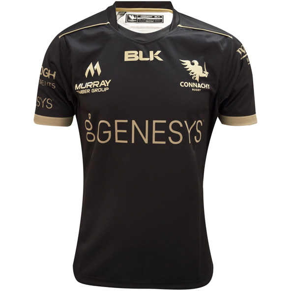 BLK Connacht 2020 Away Kids' Jersey, Black