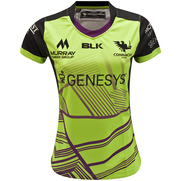 BLK Connacht 2020 Women's Euro Jersey, Green