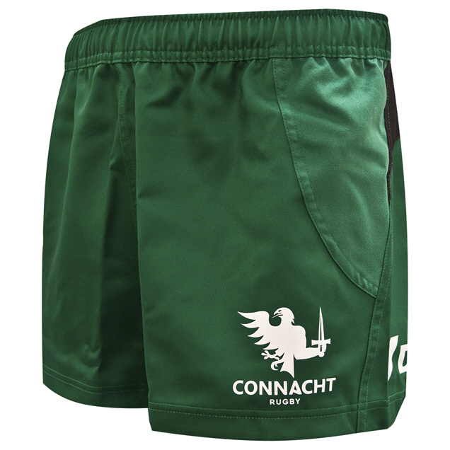 BLK Connacht 20 Home Test Short Green