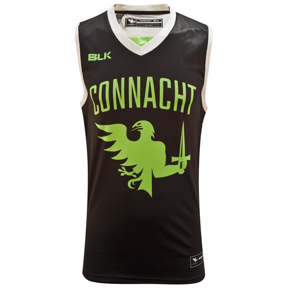 BLK Connacht 20 Basketball Singlet Black
