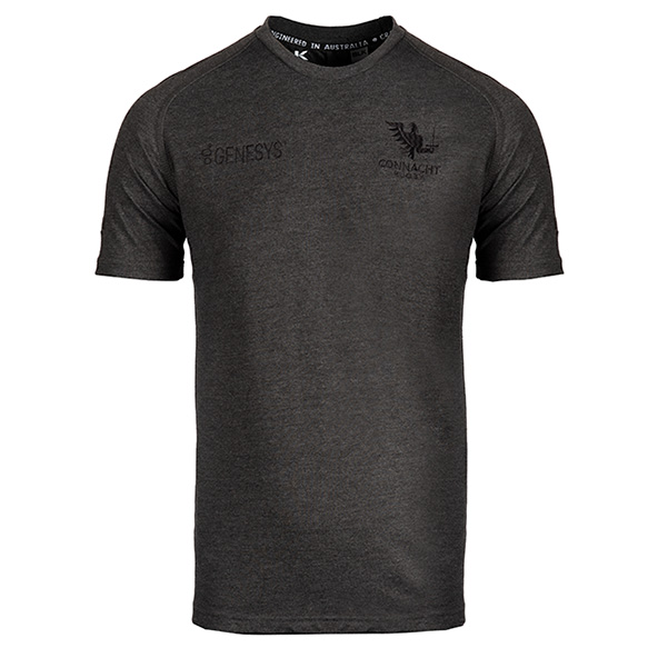 BLK Connacht 20 Essentials Tee Grey