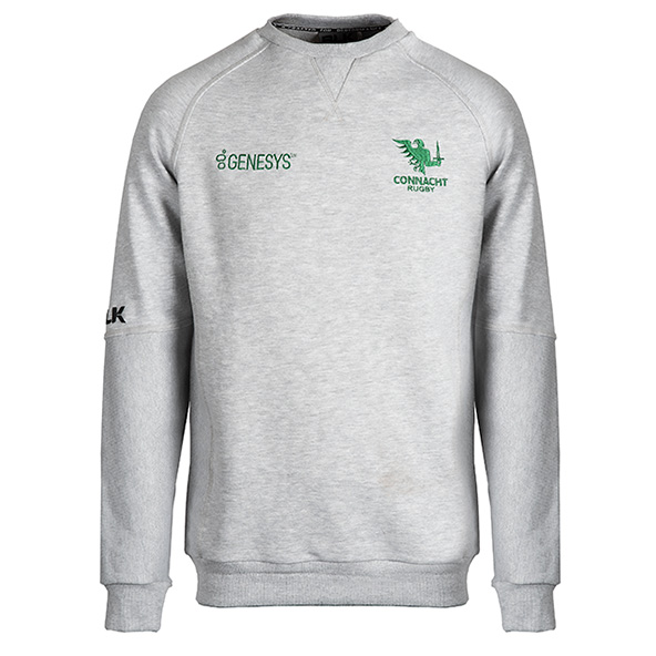 BLK Connacht 20 Crew Sweat  Grey