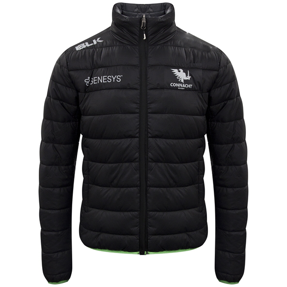 BLK Connacht 20 Puffer Jacket Black