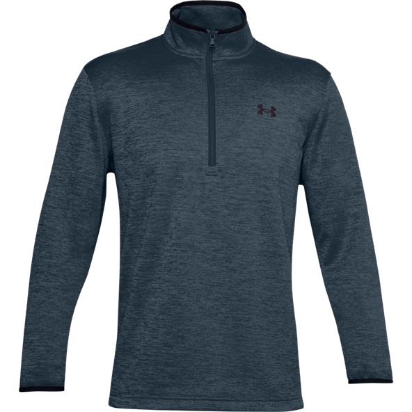 Under Armour Mens Fleece Half Zip Blue