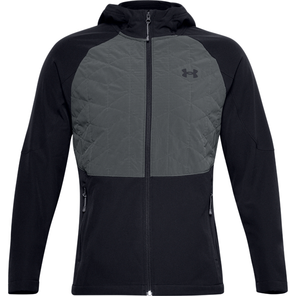 Under Armour® ColdGear Reactor Hybrid Men's  Jacket Black
