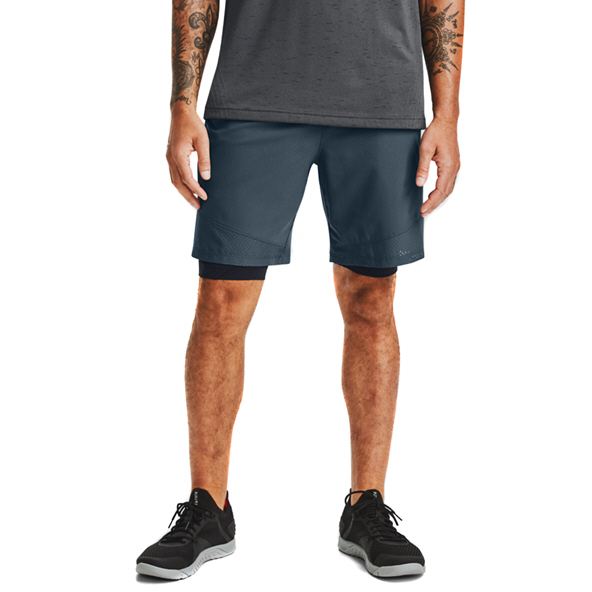 Under Armour Mens Vanish Wvn Short Blue