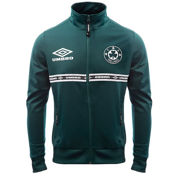 Umbro FAI 88 Retro Track Top Green
