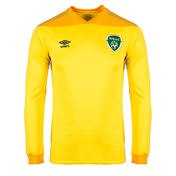Umbro FAI 2021 Kids' Goalkeeper Away Jersey Yellow