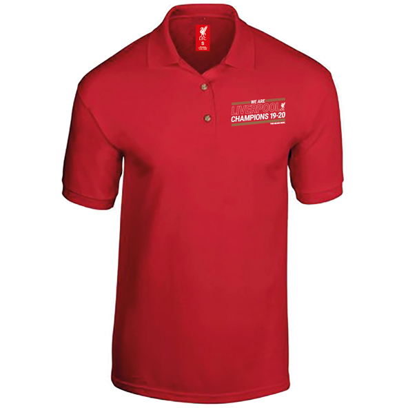 Source Lab LFC Champions 19-20 Polo Red