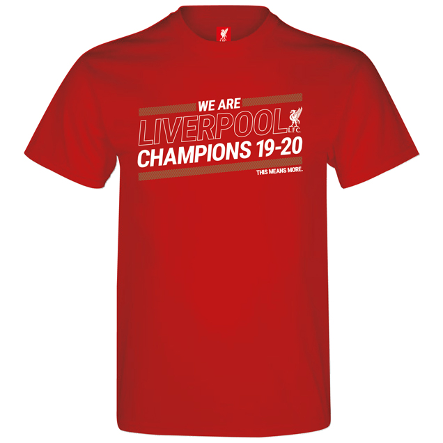 Source Lab LFC Champions 20 Kids Tee Red