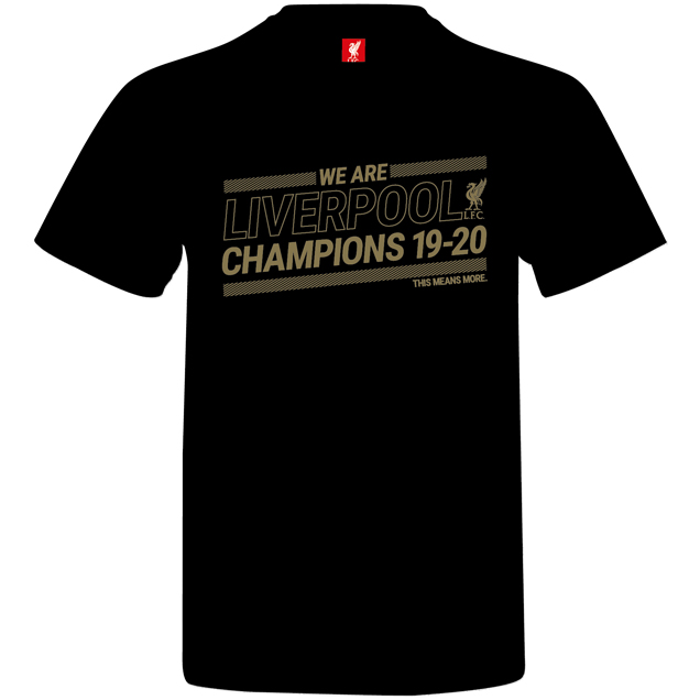 Source Lab LFC Champions 20 Kids Tee Blk