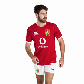 Canterbury British & Irish Lions Pro Jersey Red