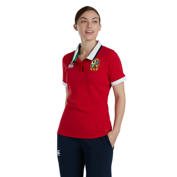 Canterbury British & Irish Lions Women's Classic Jersey Red