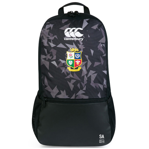 Canterbury Lions Medium Backpack Black