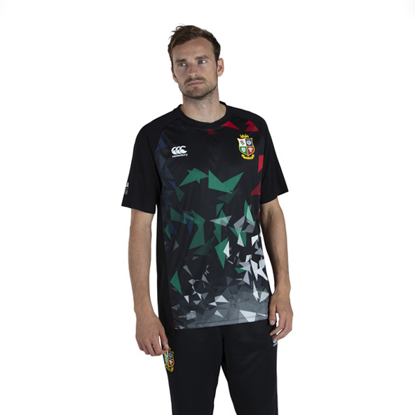Canterbury British & Irish Lions Superlight Graphic Tee Black