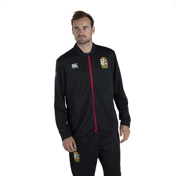 Canterbury British & Irish Lions Track Jacket Black