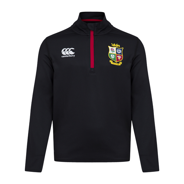 Canterbury British & Irish Lions Kids' First Layer Top Black