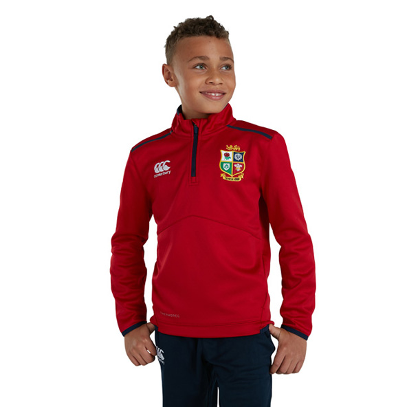Canterbury British & Irish Lions Thermoreg First Layer  Kids' Top Red