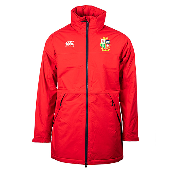 Canterbury Lions Waterproof Jacket Red