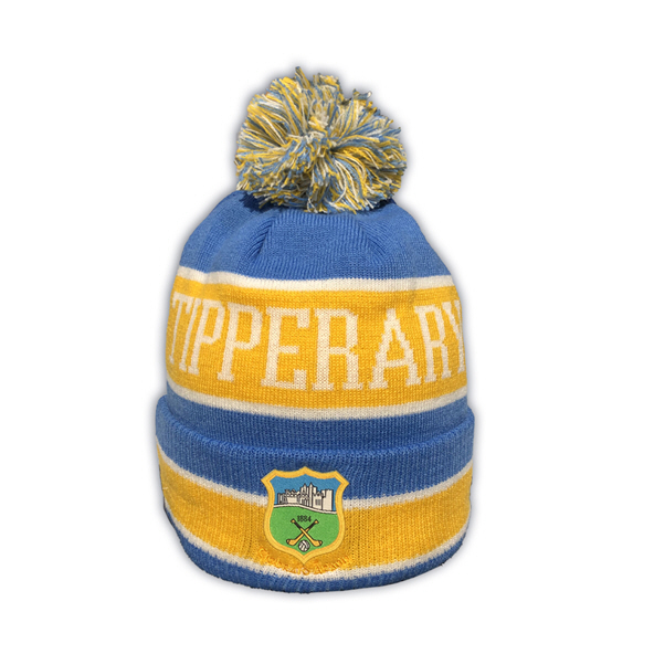 New Era Tipperary Cuff Knit Bobble Beanie Green