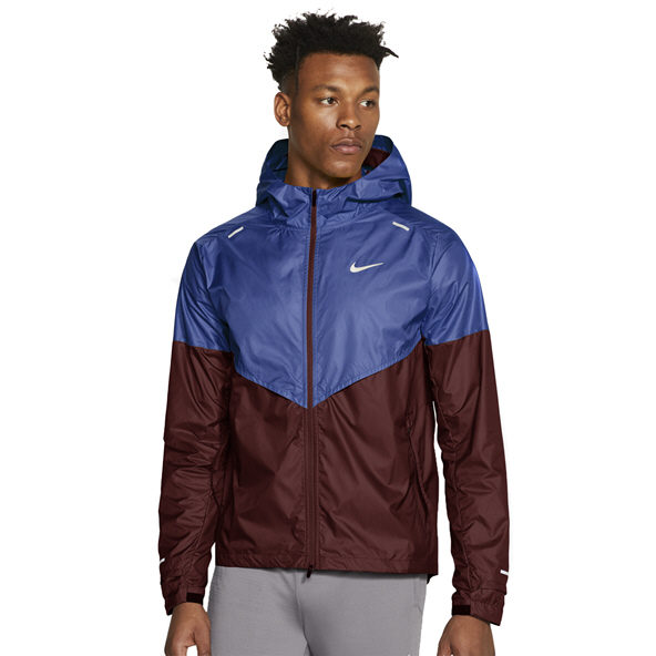 Nike Mens Shield Jacket Blue