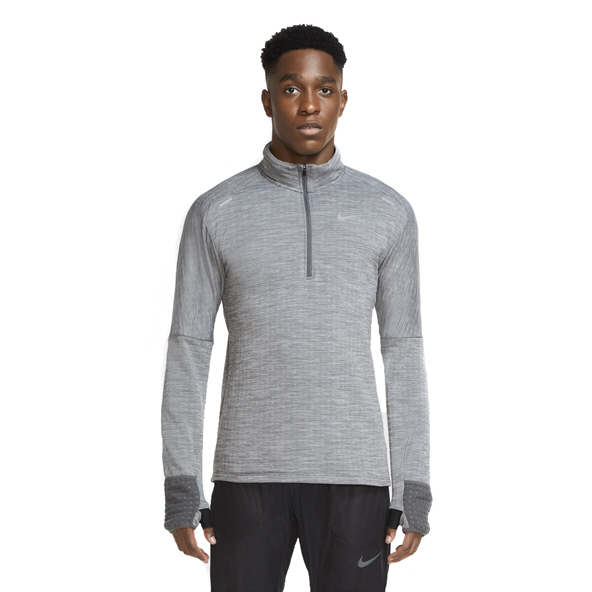 Nike Mens Sphere Element 3 Half Zip Grey