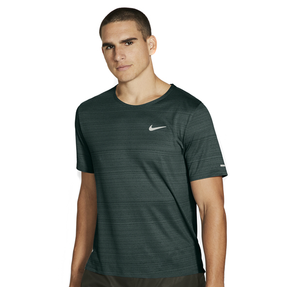 Nike Mens DF Miler Tee Green