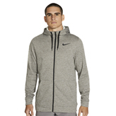 Nike Therma Men's Full-Zip Training Hoody Grey
