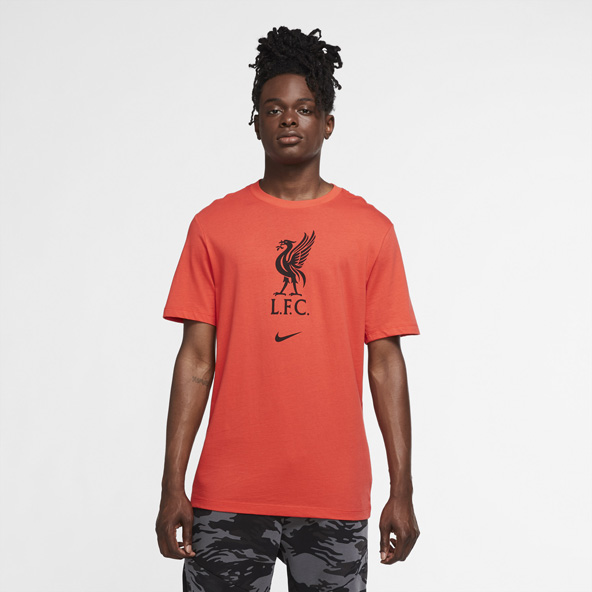 Nike Liverpool 20 E/G Crest Tee Red