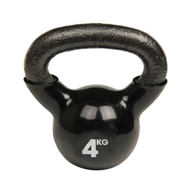 Fitness Mad Kettlebell 4Kg Black