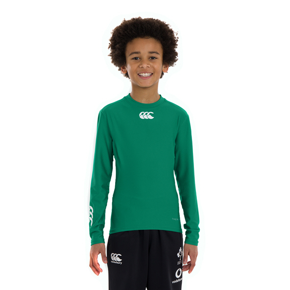 Canterbury IRFU 2020 Kids' Baselayer, Green