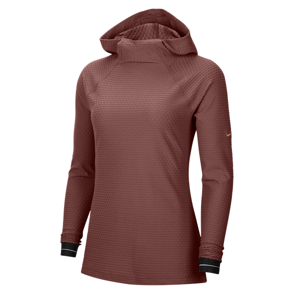 Nike Wmns Pro Icon Clash Hoody Red
