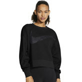 Nike Dri-Fit Get Fit Women's Sweat Top Black