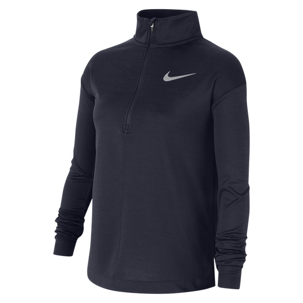 Nike Girl Run Half Zip Navy