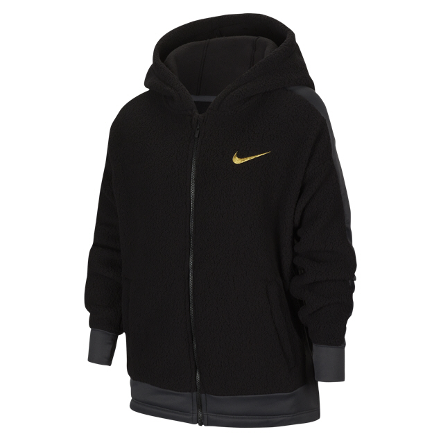 Nike Girl Therma Winter FZ Hoody Black