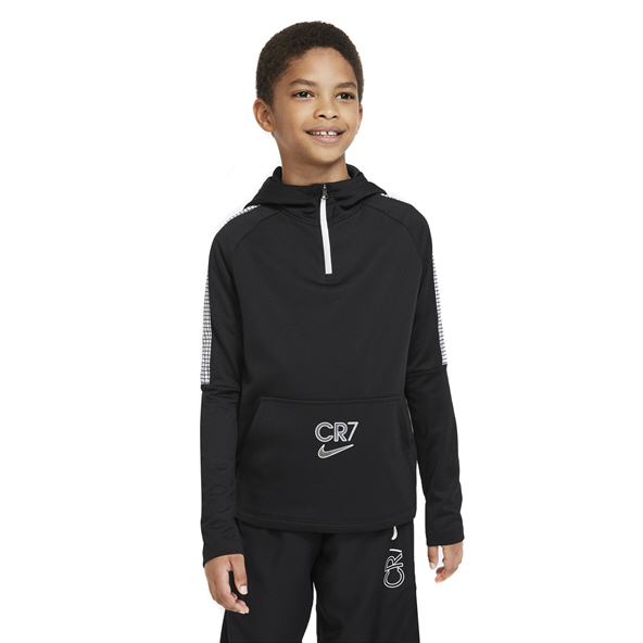 Nike CR7 Kids Dry Dril Hoody Black