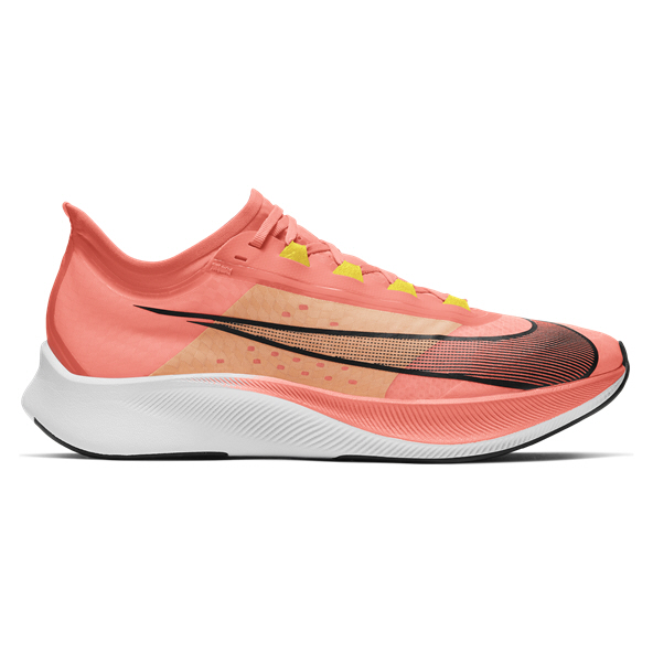 Nike Zoom Fly 3 Men's Running Shoe, Bright Mango
