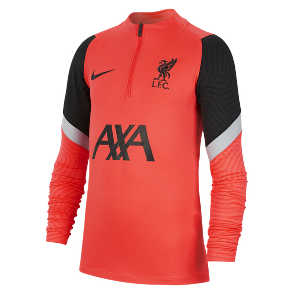 Nike Liverpool FC 2020/21 Strike Drill Kids' Top, Red