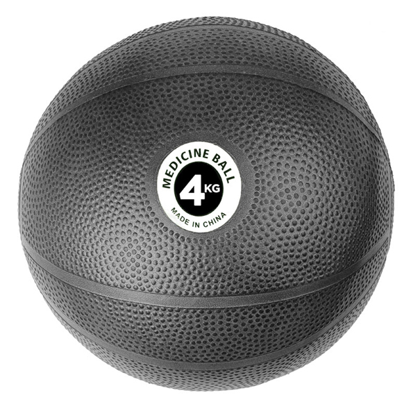 Fitness Mad 4kg PVC Medicine Ball, Black