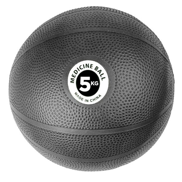 Fitness Mad 5kg PVC Medicine Ball, Black