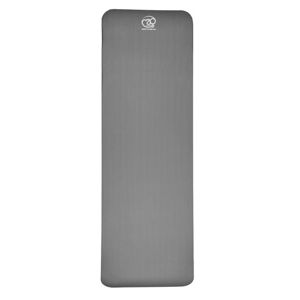 Fitness Mad Stretch Mat - 10mm, GreyGrey Black
