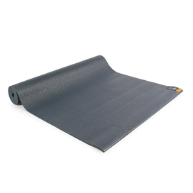 Fitness Mad Warrior Yoga II Mat Graphite 4mm, Grey
